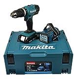Makita Akku-Schlagbohrschrauber 18 V/1,5 Ah inklusive...