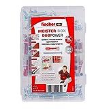 fischer MEISTER-BOX DUOPOWER + Schraube, Werkzeugkiste...