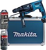 Makita HR2631FT13 Kombihammer für SDS-PLUS 26 mm im...