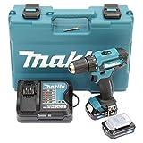 Makita DF333DSAE Akku-Bohrschrauber 12 V max. / 2,0 Ah,...