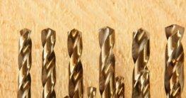 Holz bohren mit Metallbohrer