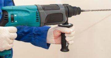 Schlagbohrmaschine oder Bohrhammer