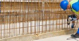 Bohren in Beton mit Stahlarmierung