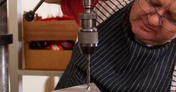 Tischbohrmaschine mit stufenloser Drehzahlregelung
