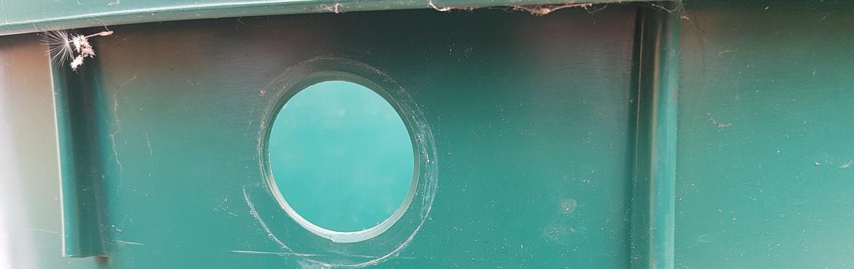 Loch in Kunststoff bohren
