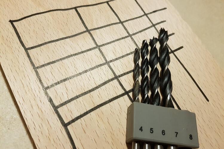 Holzbohrer Drehzahltabelle