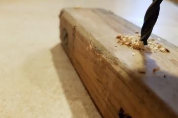 Holzbohrer Holz bohren